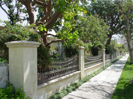 retaining wall in Los Angeles