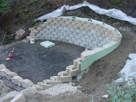 retaining wall built in Los Angeles